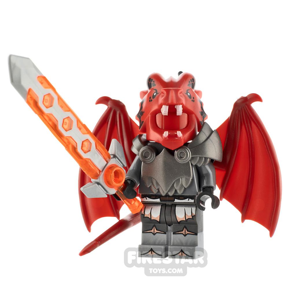 Custom Minifigure Dragon Knight