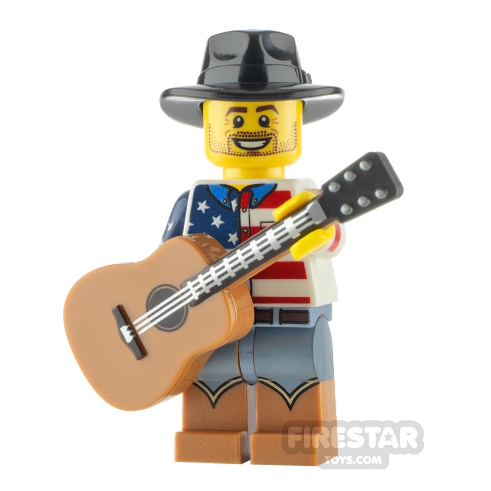 Custom Minifigure Country Western Singer