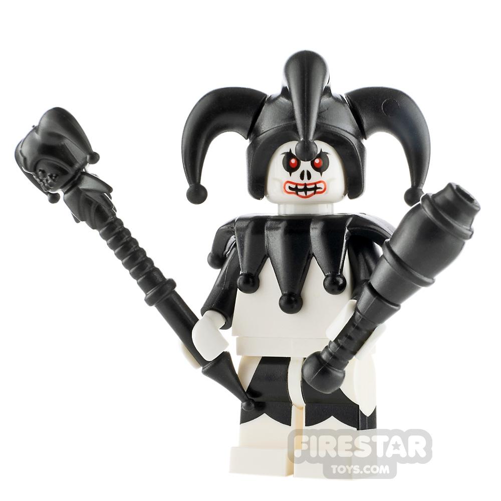 Custom Minifigure Dark Jester