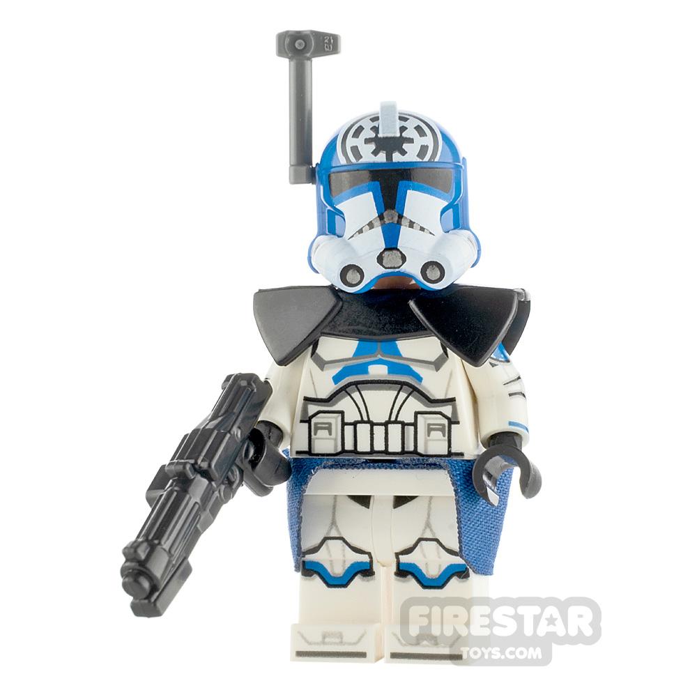 Custom Minifigure SW Jes Blue