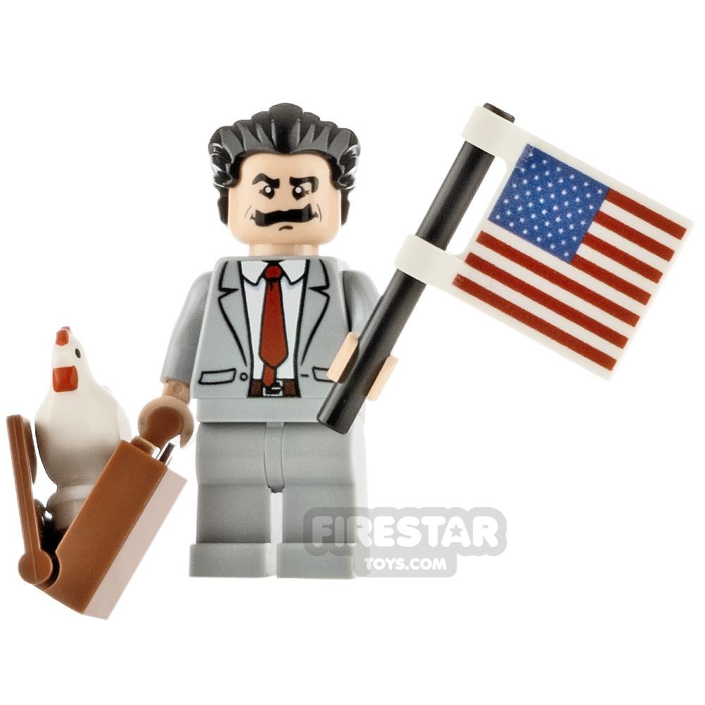 Custom Minifigure Borat