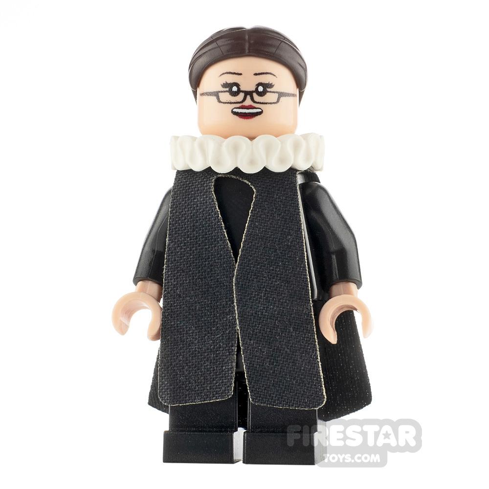 Custom Minifigure Ruth Bader Ginsburg