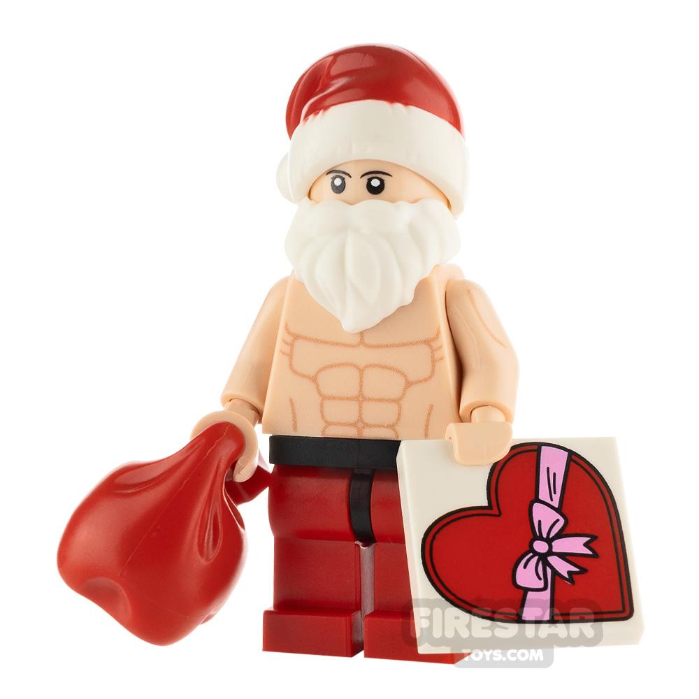 Custom Minifigure Sexy Santa