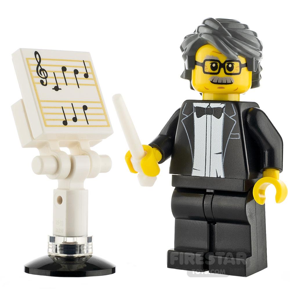 Custom Minifigure Music Conductor