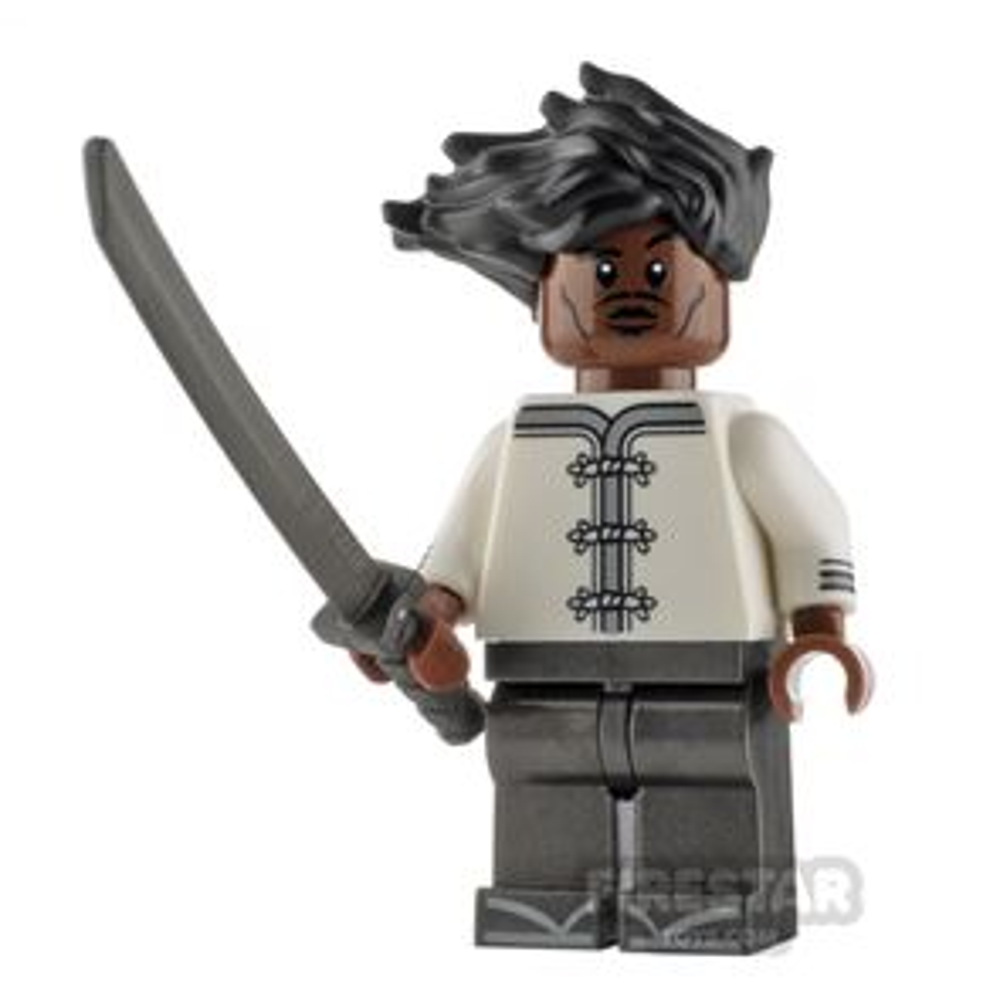 Custom Minifigure Afro Samurai