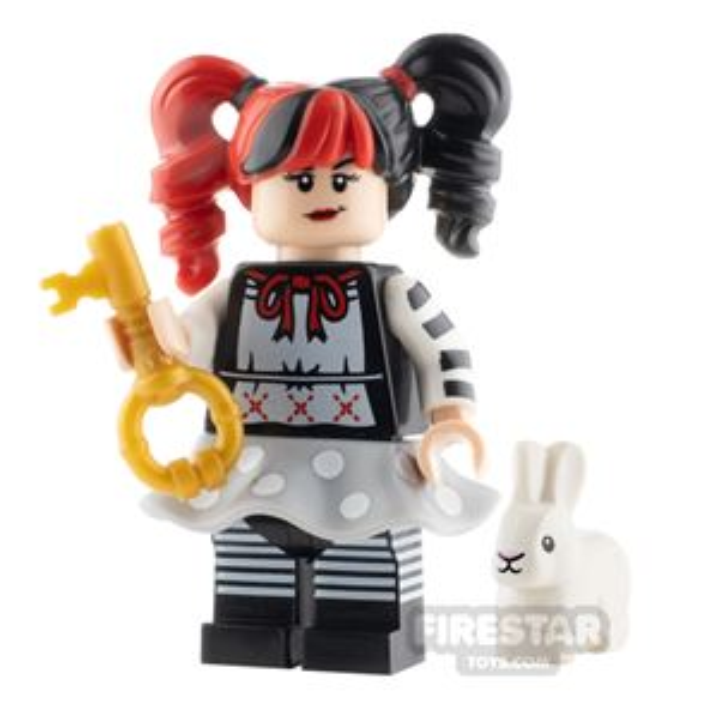 Custom Minifigure Alice in Wonderland Alice