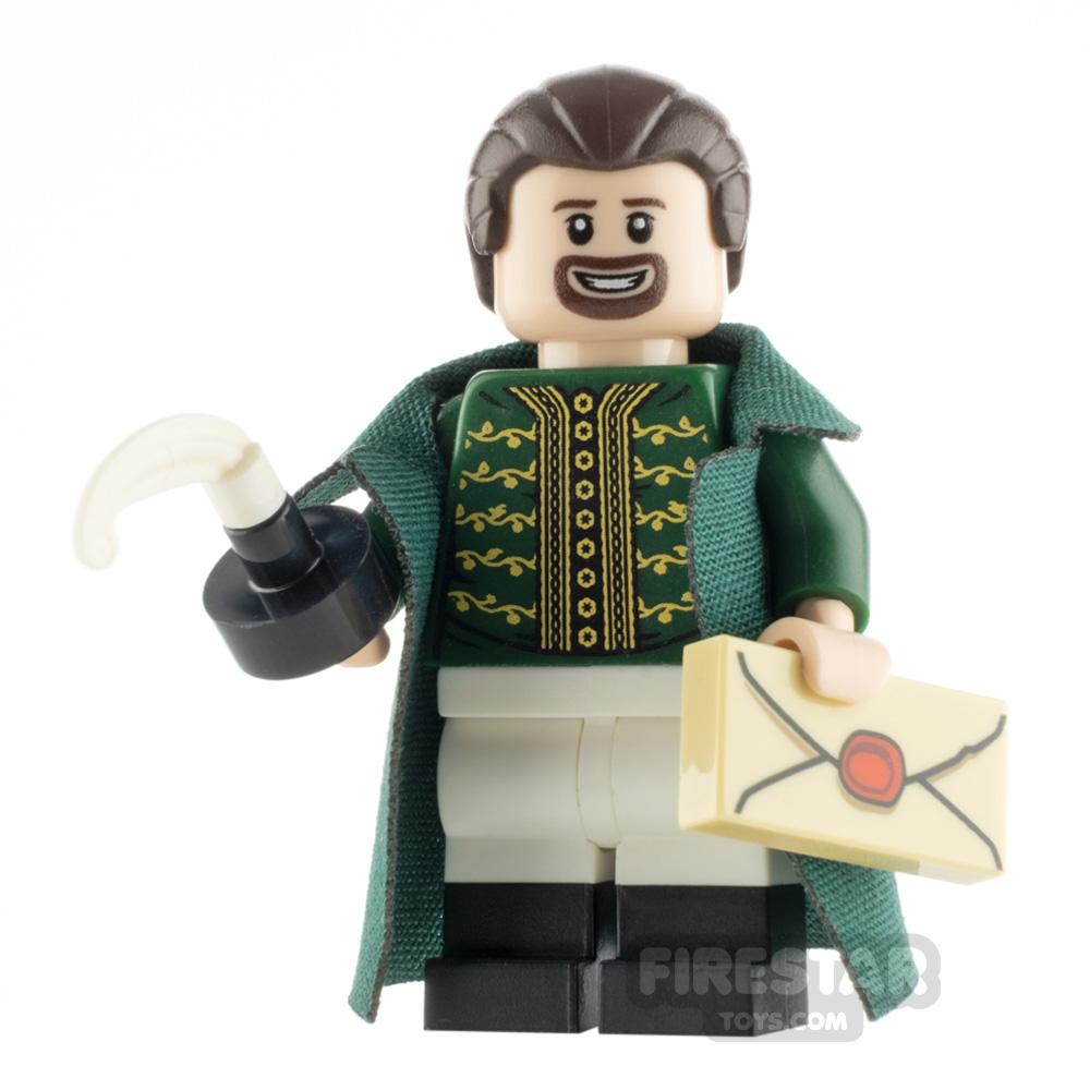 Custom Minifigure Hamilton Ten Dollar Founding Father