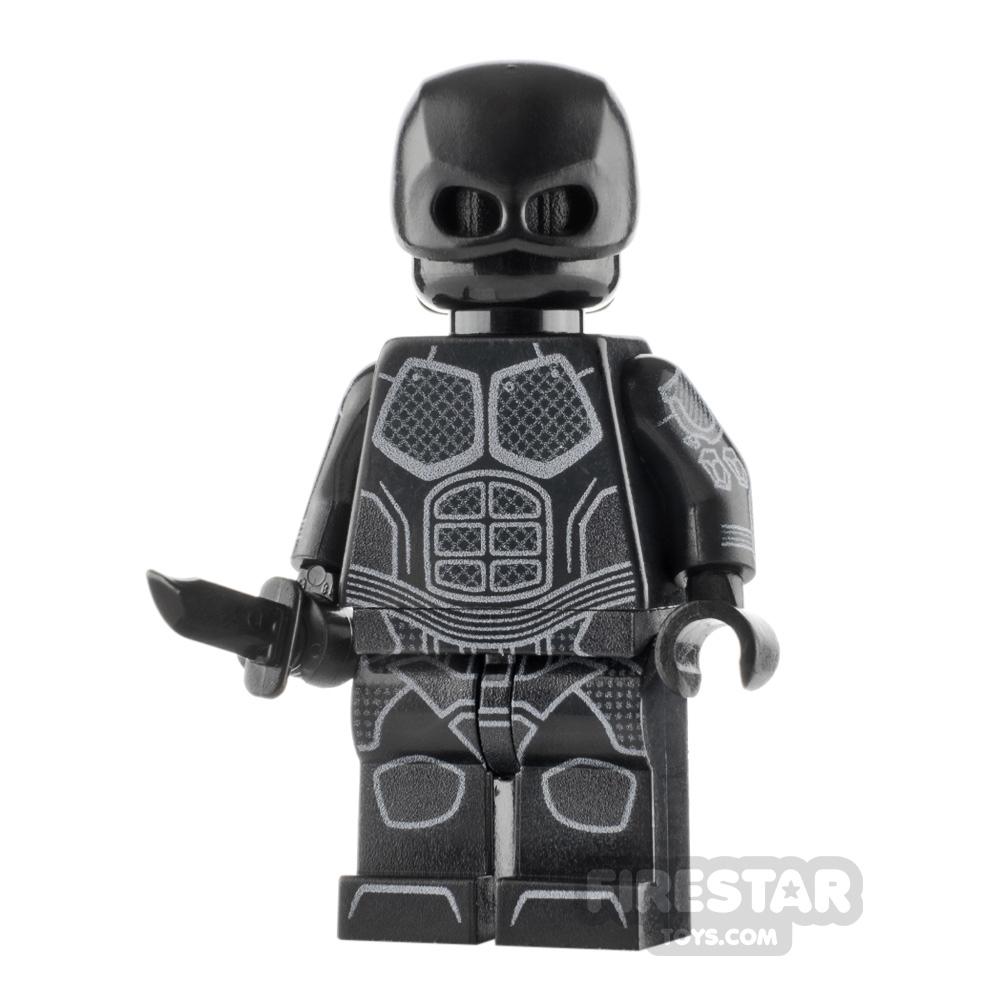 Custom Design Minifigure The Boys Black Noir
