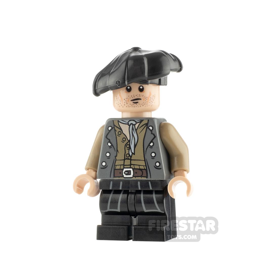 Custom Minifigure Blackadder Baldrick