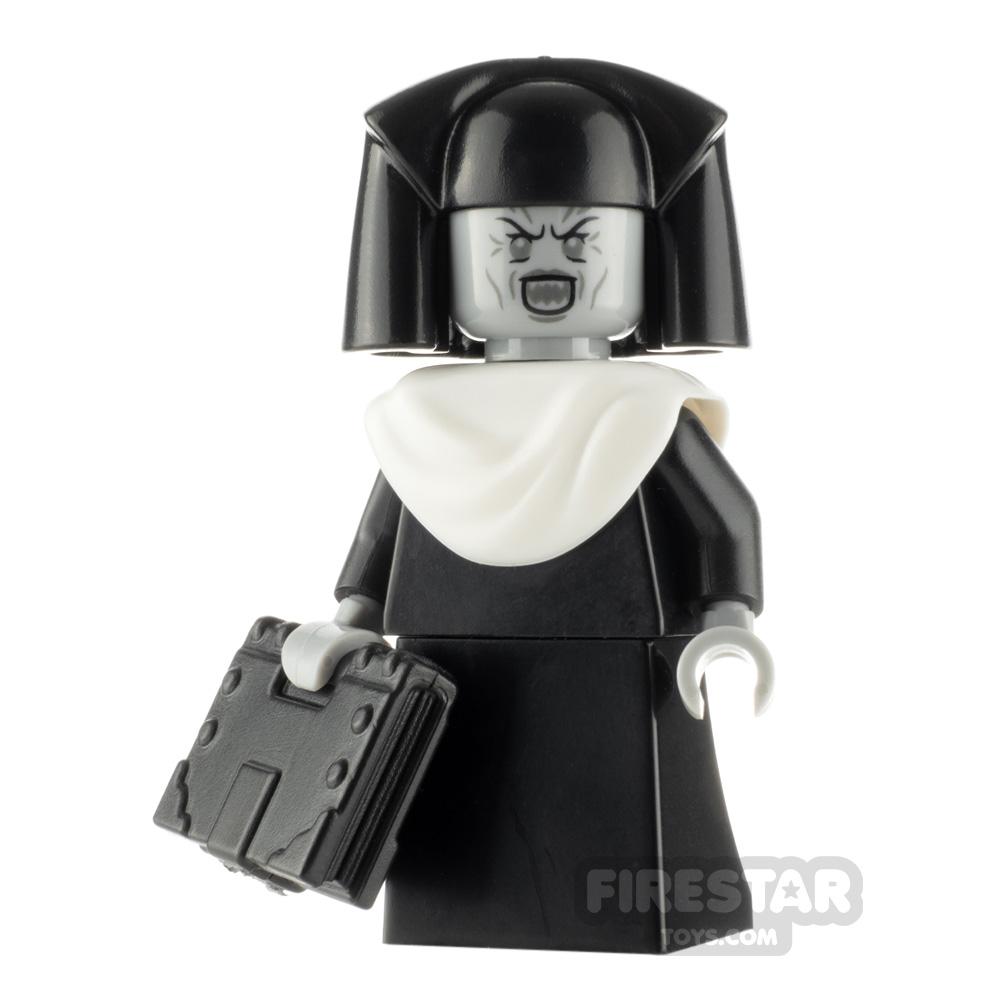 Custom Minifigure Demonic Nun