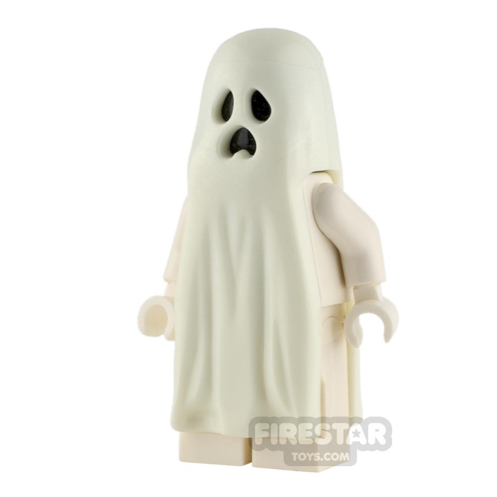 LEGO Halloween Glow In The Dark Minifigure Ghost With Legs