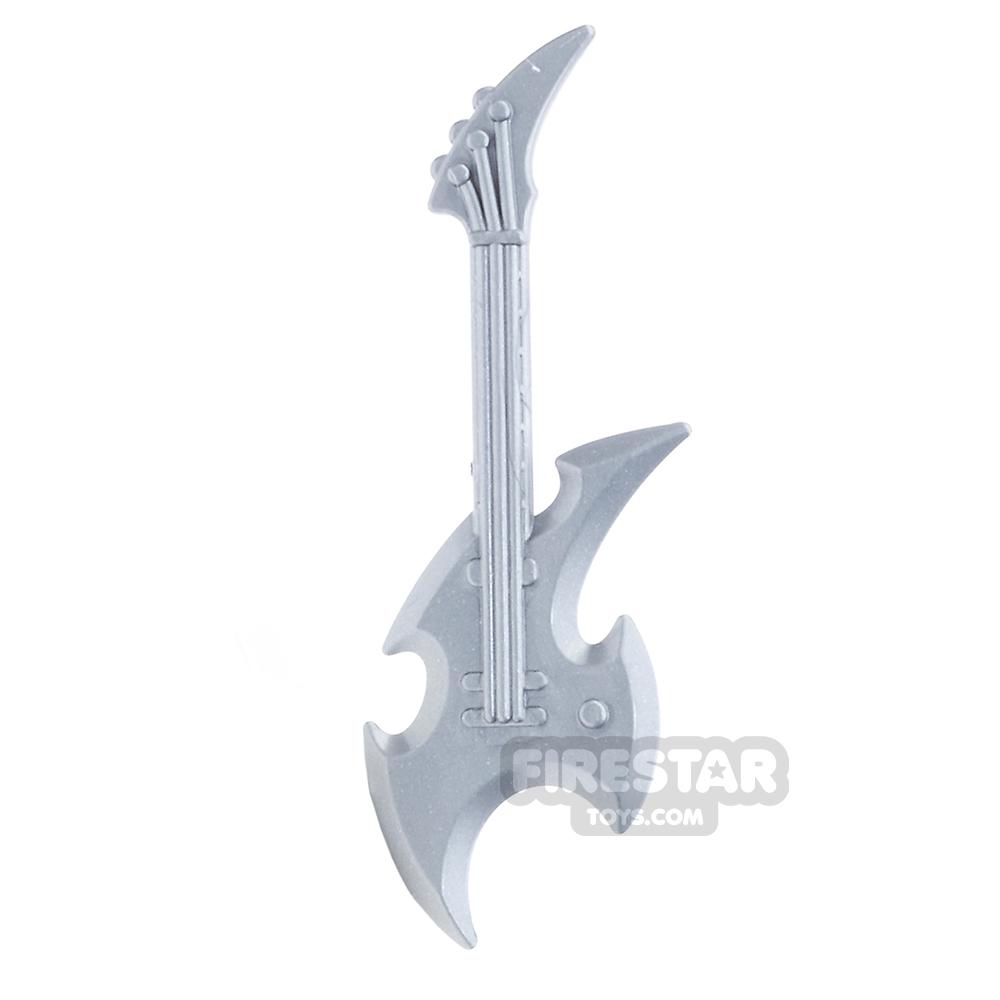 Brickarms - Axe Guitar - Silver