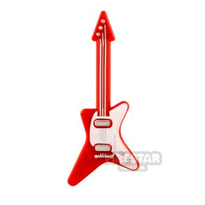 LEGO Electric Guitar Red and White