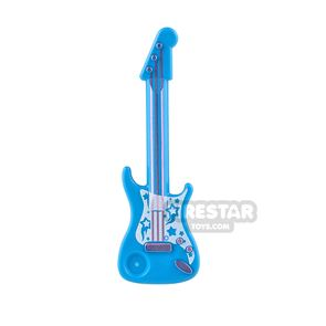 LEGO Electric Guitar with Stars