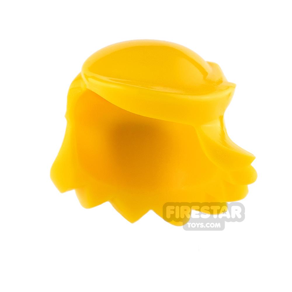 Arealight Mini Figure Hair - Breezy Hair - Yellow
