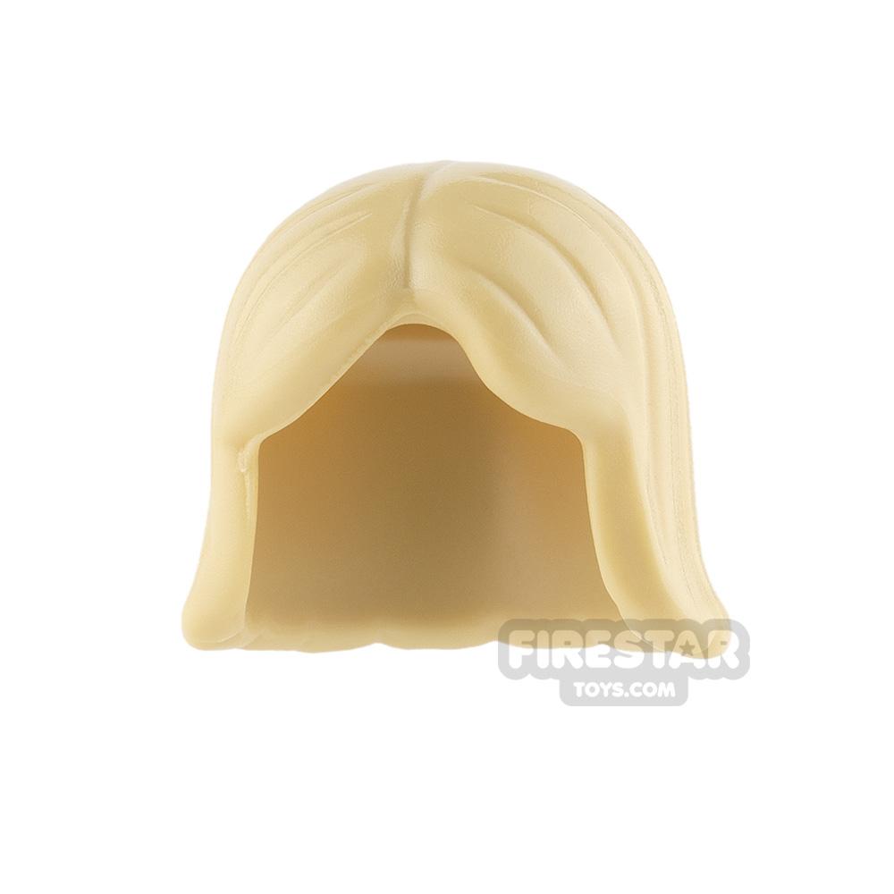 LEGO Hair - Center Parting - Tan