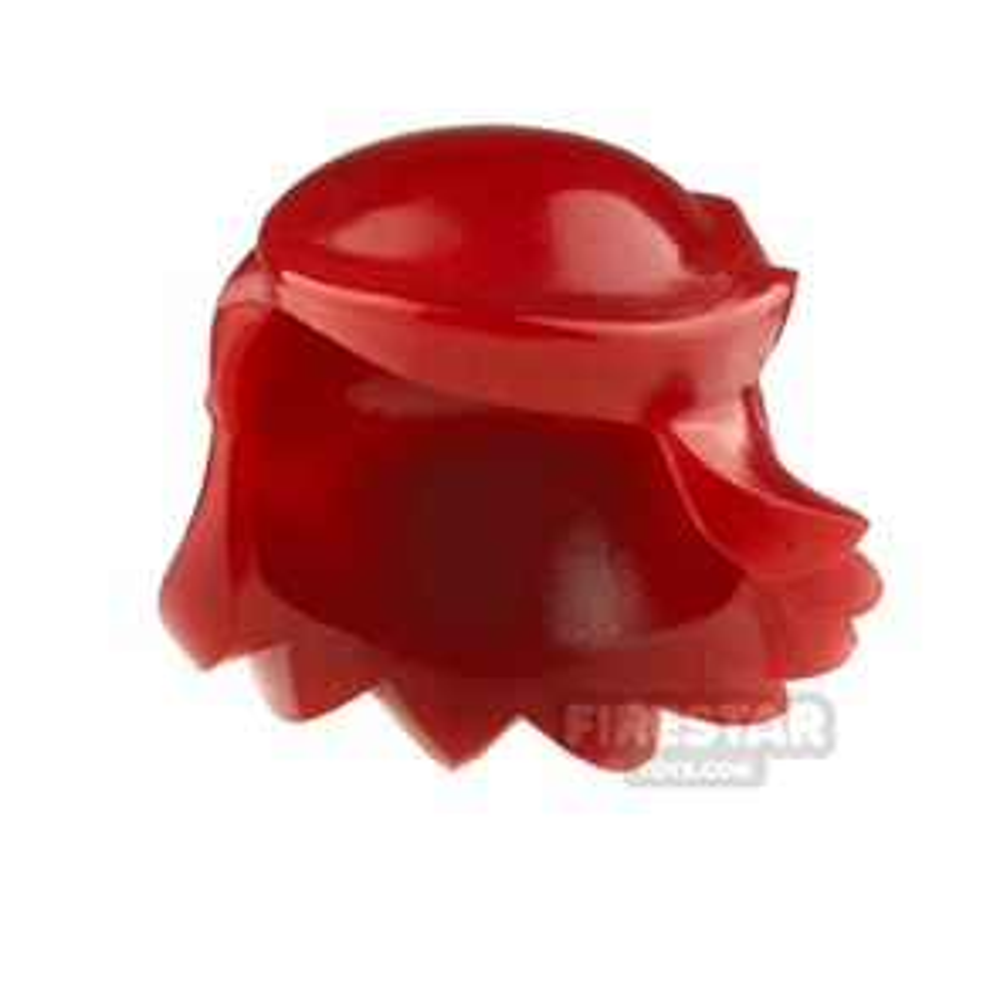 Arealight Mini Figure Hair - Breezy Hair - Dark Red