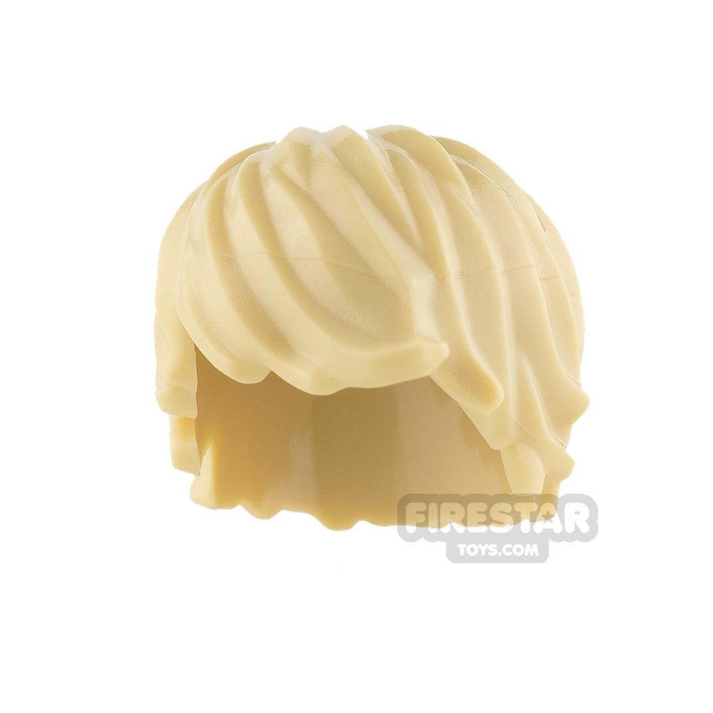 LEGO Hair - Choppy - Tan