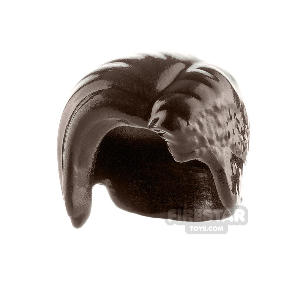 Minifigure Hair Right Side Fringe