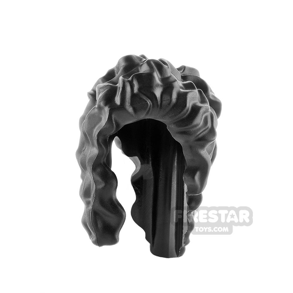 LEGO Hair Long Messy Overshoulder