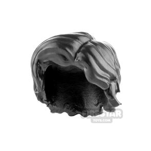 Minifigure Hair Thick with Side Parting