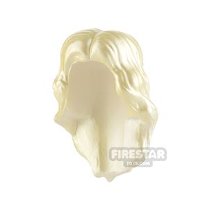 Minifigure Hair Long with Centre Parting
