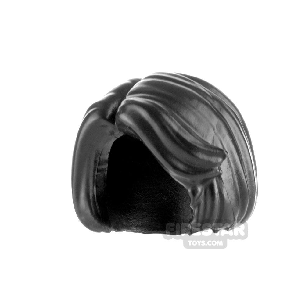 Minifigure Hair Bob Cut with Sweeping Fringe