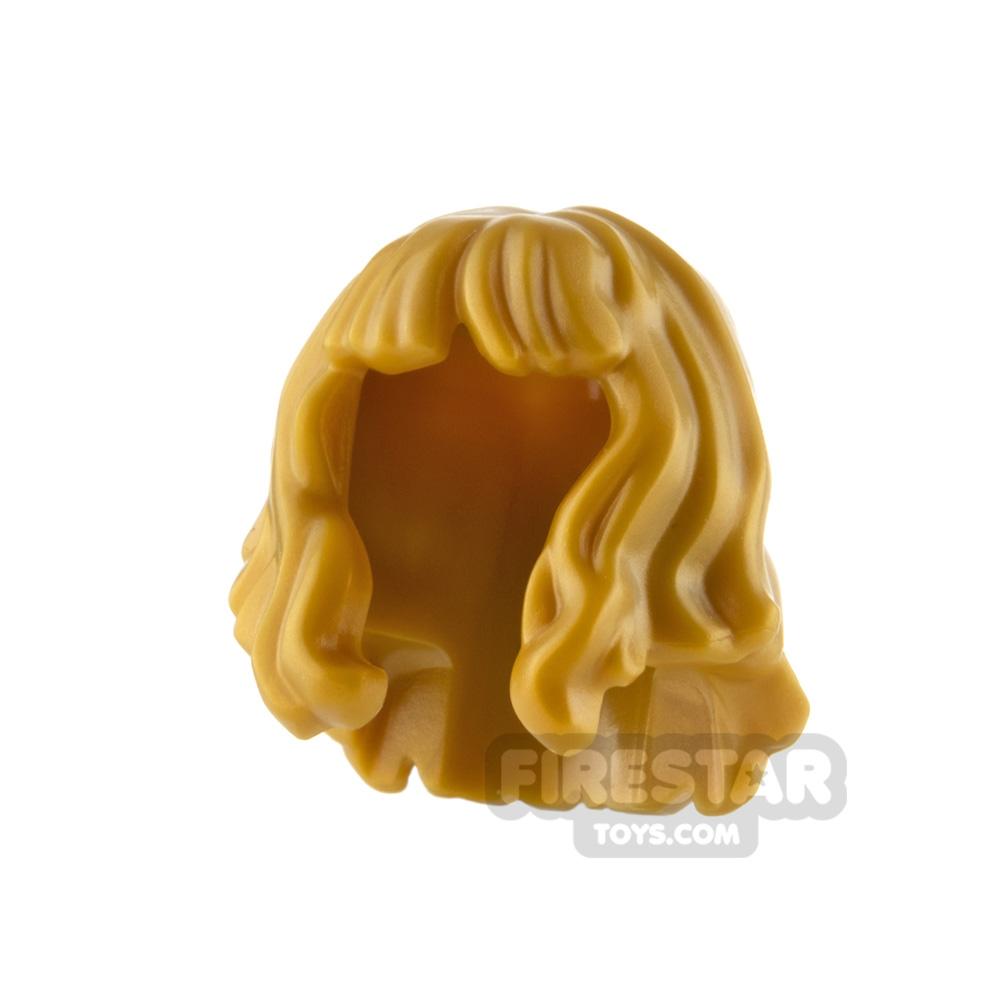 LEGO Minifigure Hair Mid Length Wavy with Bangs