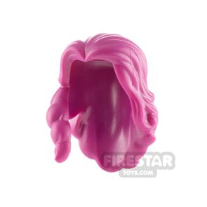 LEGO Minifigure Hair Long with Parted Bangs