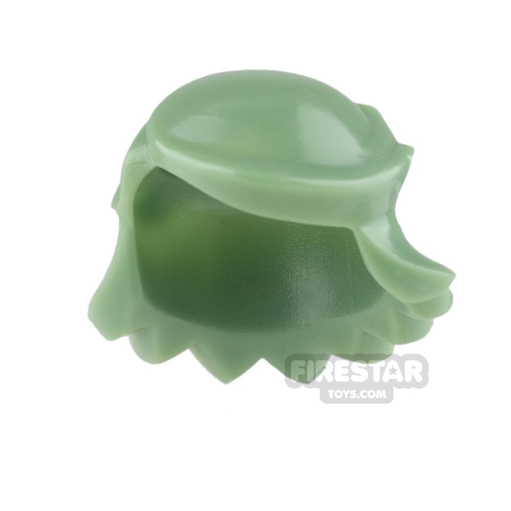 Arealight Mini Figure Hair - Breezy Hair - Sand Green