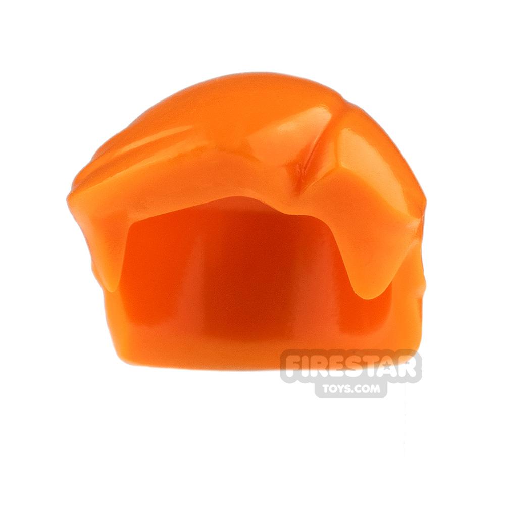 Arealight Mini Figure Hair - Hero Hair - Orange