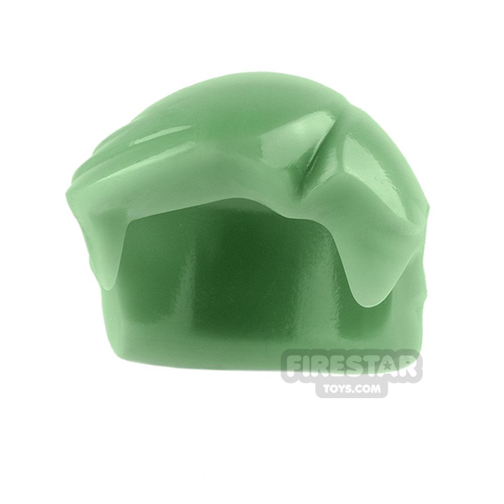 Arealight Mini Figure Hair - Hero Hair - Sand Green