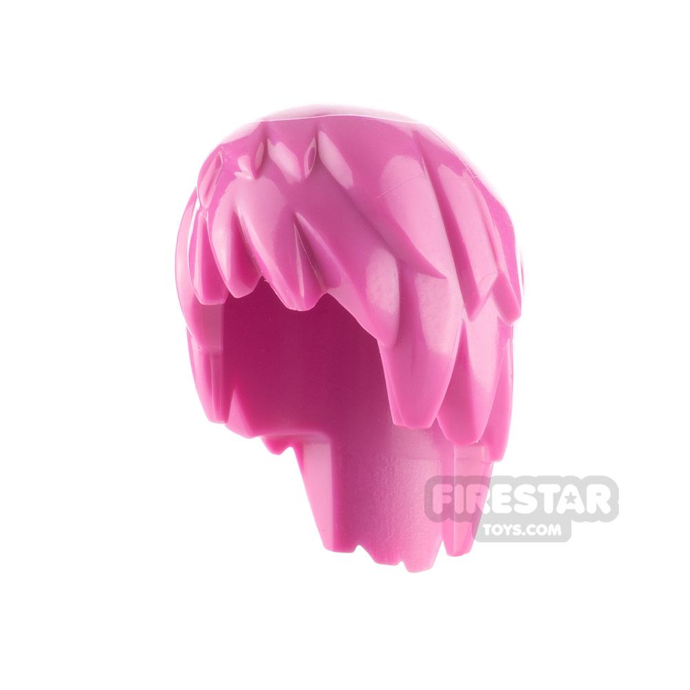 LEGO Hair - Punky Hair - Pink