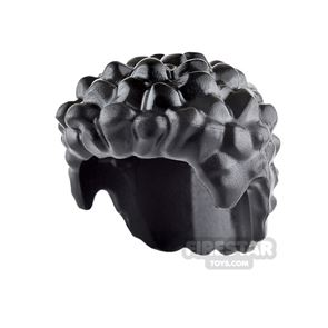 LEGO Hair - Short and Coiled - Black