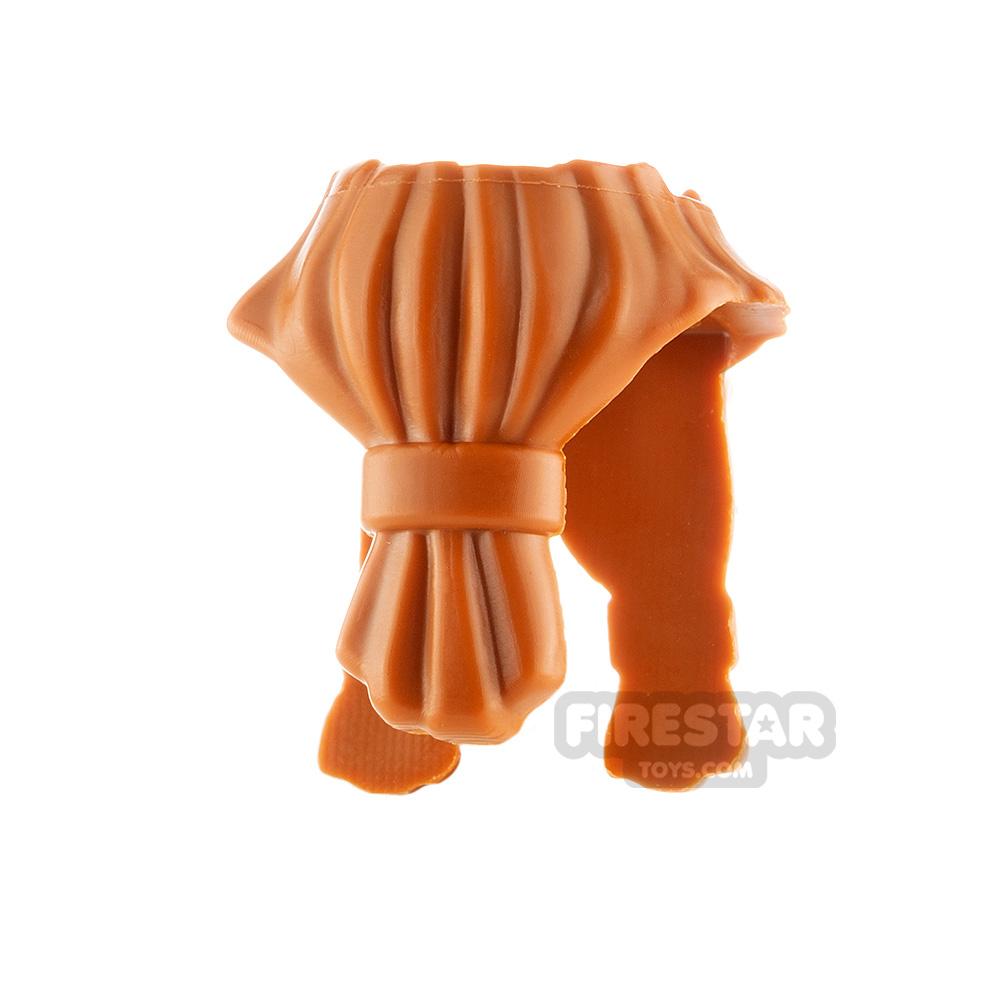 LEGO Hair - Beard - Dark Orange