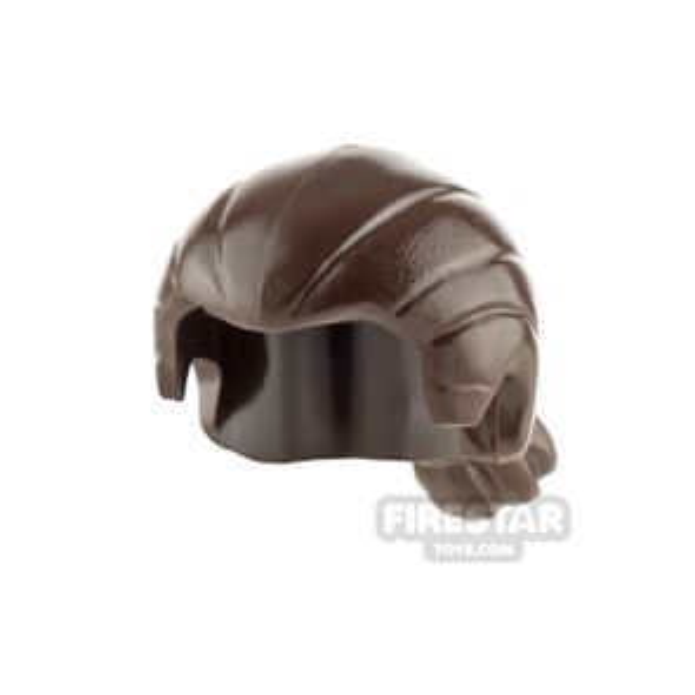 LEGO Hair - Short Ponytail - Dark Brown