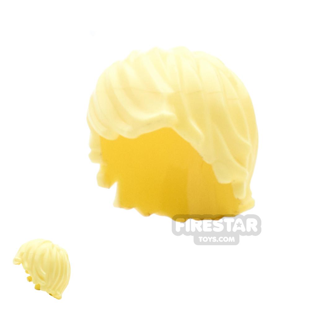 LEGO Hair - Choppy - Bright Light Yellow