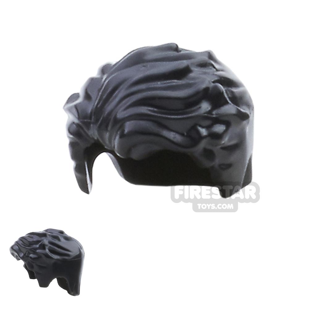 LEGO Hair - Swept Left - Black