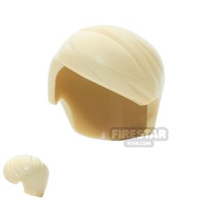 LEGO Hair - Short with Side Parting - Tan