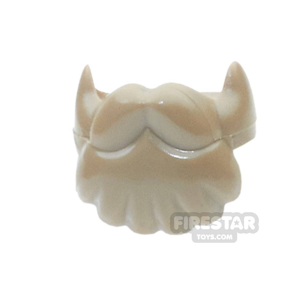BrickForge Hair - Dwarf Beard - Dark Tan