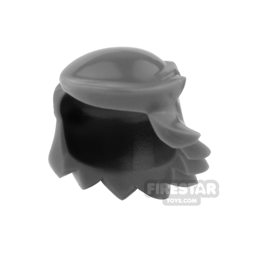 Arealight Mini Figure Hair - Breezy Hair - Dark Gray