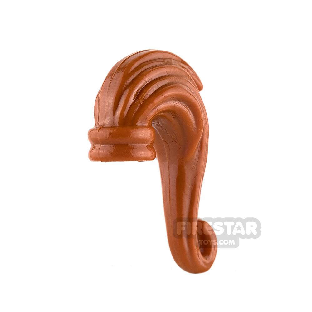 BrickForge Hair - Ponytail - Dark Orange