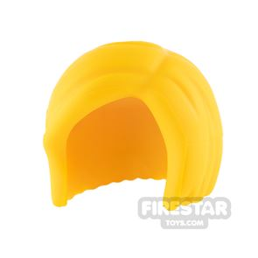 LEGO Hair - Short Bob - Bright Light Orange