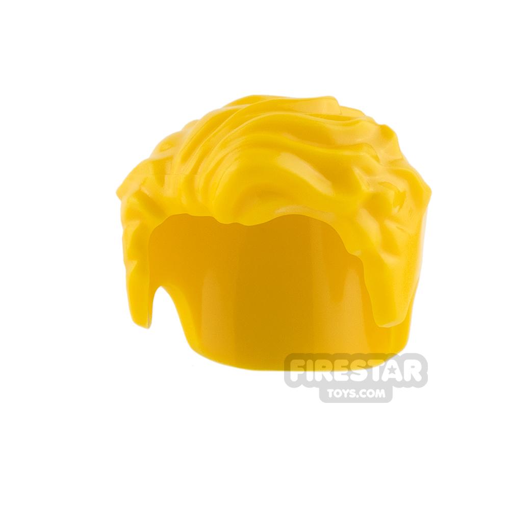 LEGO Hair - Swept Left - Yellow