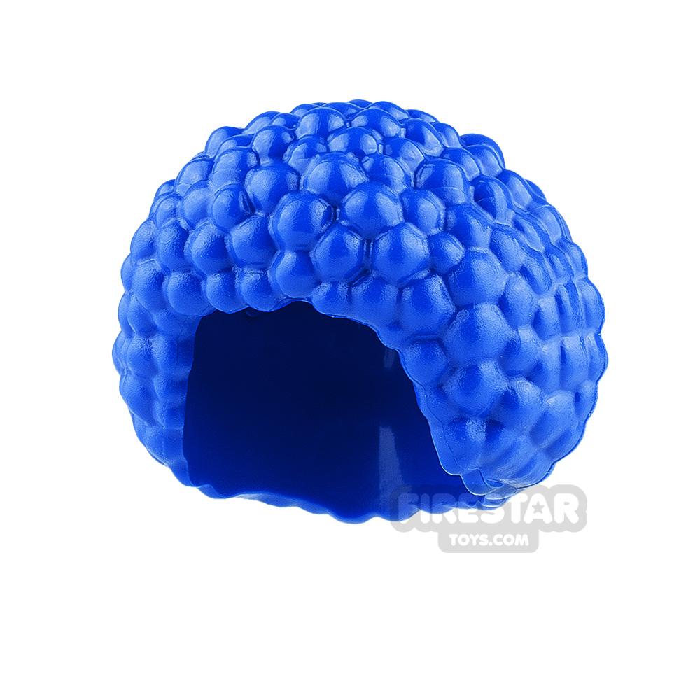 LEGO Hair - Afro - Blue