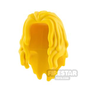 LEGO Hair - Mid Length with Bangs - Yellow