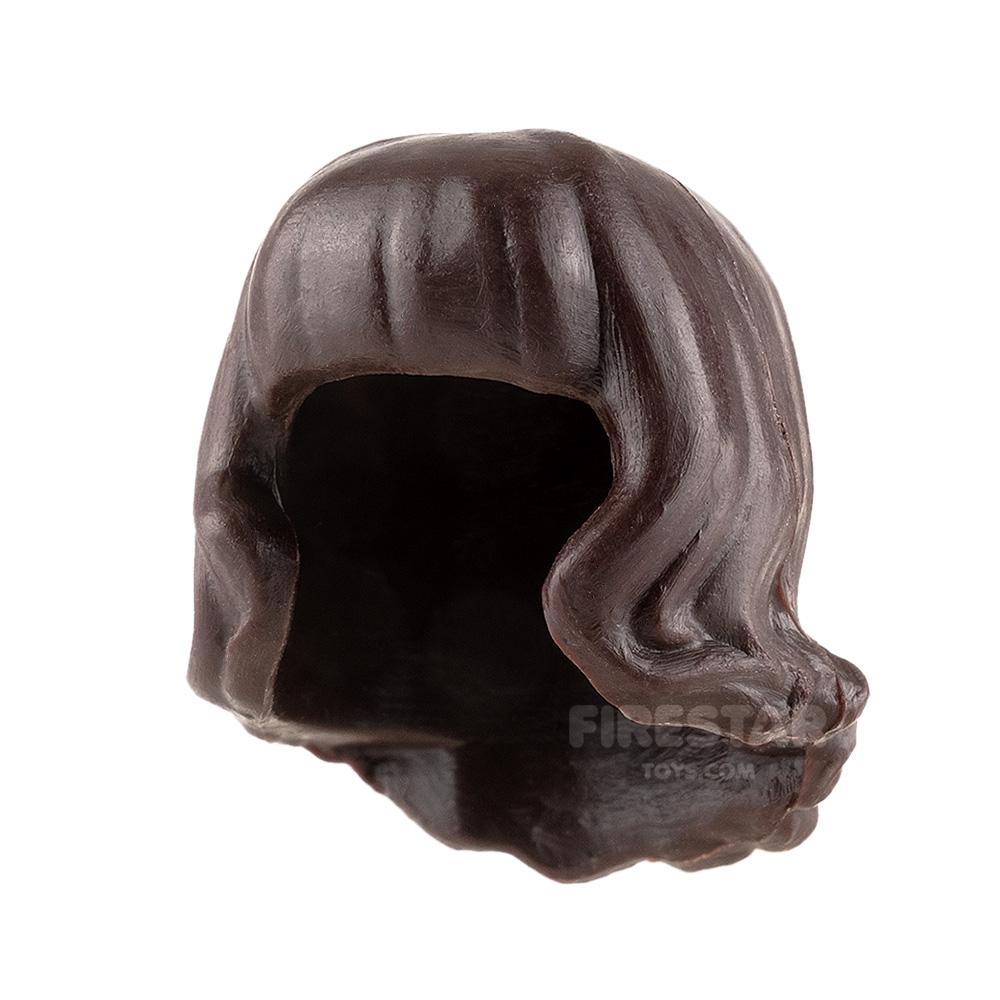 Minifigure Hair Short Wavy with Fringe