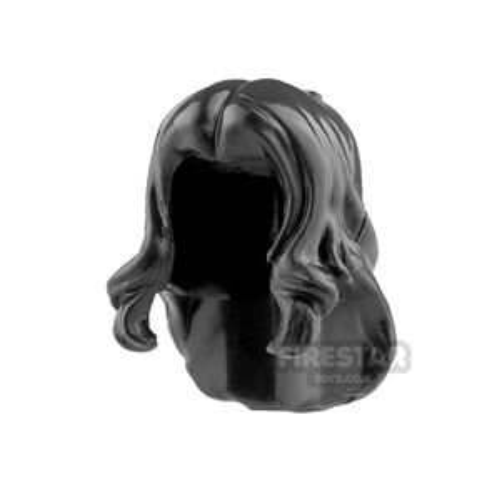 Minifigure Hair Mid Length with Bangs