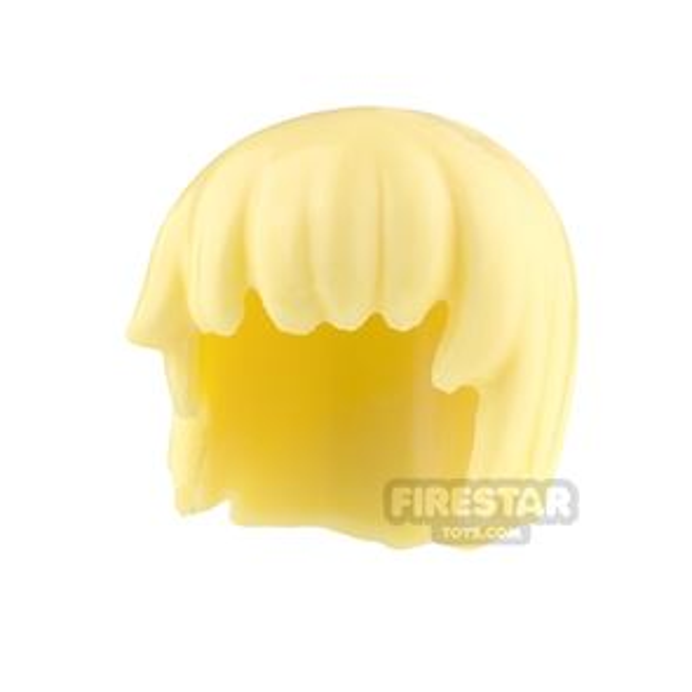 Minifigure Hair Bob Cut with Choppy Fringe