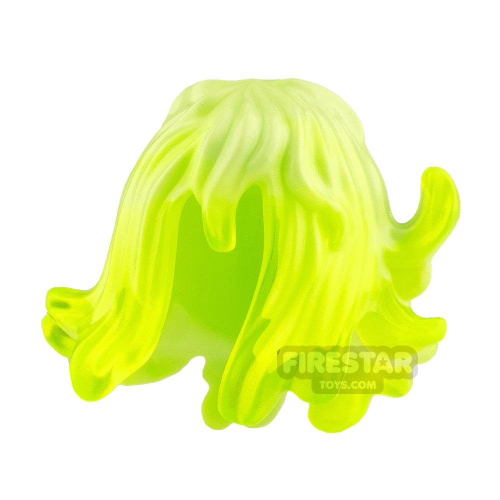 LEGO Hair Mid Length Wavy with Spikes